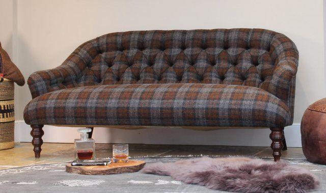 Harris Tweed Aberlour Midi Sofa