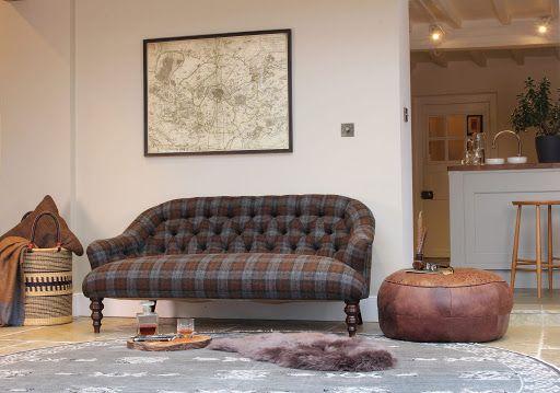 Harris Tweed Aberlour Petit Sofa
