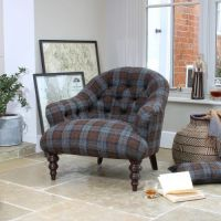 Harris Tweed Aberlour Chair