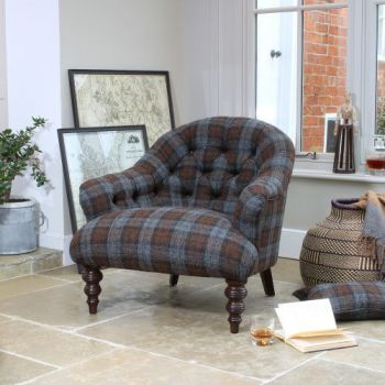 Harris Tweed Aberlour Chair