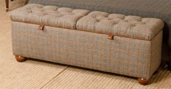 Harris Tweed Eriskay Bedding Box