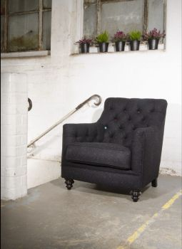 Harris Tweed Glencoe Chair