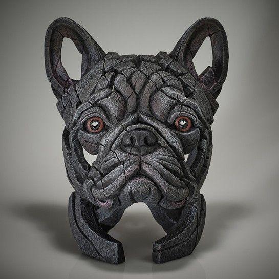French Bulldog Bust (Blue)