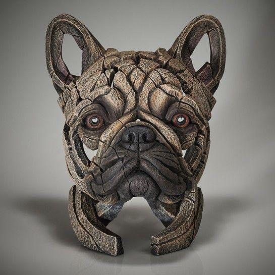 French Bulldog Bust (Fawn)