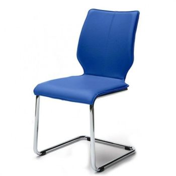 Luna LEATHER Cantilever Chair