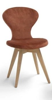 Spin R LEATHER Dining Chair