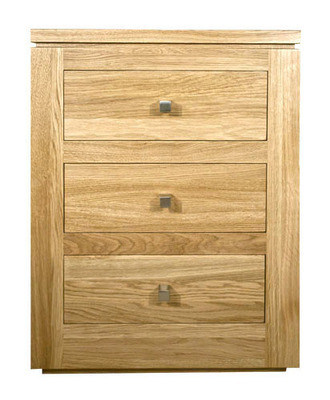 Chewton Park 3 Drawer Bedside