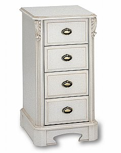 Amore Four Drawer Bedside Chest