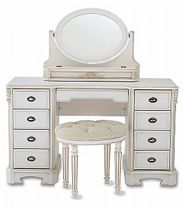 Amore Nine Drawer Dressing Table