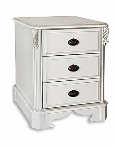 Amore Three Drawer Bedside Chest