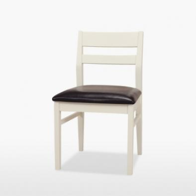 Coelo Low Back Chair Leather Seat