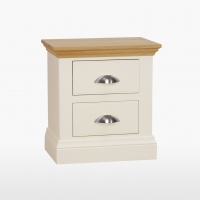 Coelo Large Bedside Table with 2 Drawers