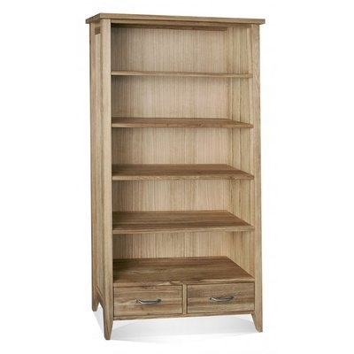 Windsor Tall Bookcase 2 Drawers