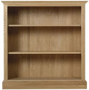 Chichester Low Bookcase Open with 2 Shelves