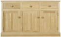 Chichester Sideboard with Three Doors