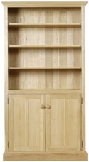 Chichester Tall Bookcase with Doors and 5 Shelves