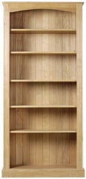 Westminster Large Bookcase with 4 Adjustable Shelves