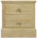 Hunston 2 Drawer Bedside Chest