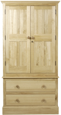 Hunston 2 Drawer Wardrobe