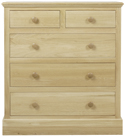 Hunston 2 Over 3 Chest of Drawers