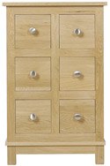 Winchester CD Storage Unit with 6 Drawers