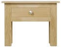 Winchester Lamp Table with Push Through Drawer