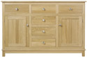 Winchester Sideboard with Centre Drawers