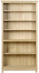 Winchester Tall Open Bookcase with 5 Shelves