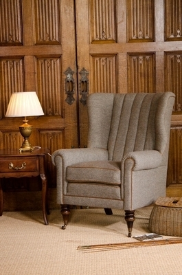 Harris Tweed Dunmore Chair