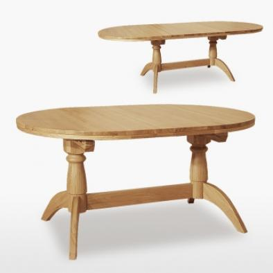 Windsor Double Pedestal Extending Table