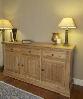 Hampton Abbey Oak Sideboard - 3 Bay