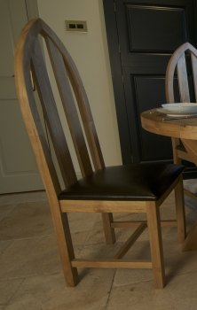 Hampton Abbey Oak Arch Chair