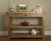 Hampton Abbey Oak Console Table