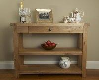 Hampton Abbey Oak Console Table