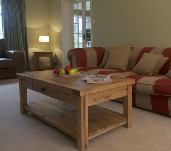 Hampton Abbey Oak Coffee Table