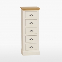 Cotswold 5 Drawer Narrow Chest