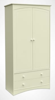 Lighthouse Large 2 Drawer Wardrobe