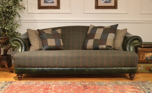Harris Tweed Taransay Midi Sofa