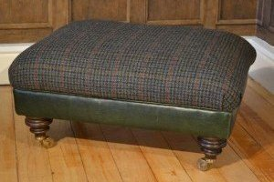 Harris Tweed Taransay Stool