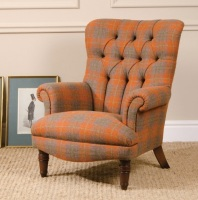 Harris Tweed Calvay Chair Fabric