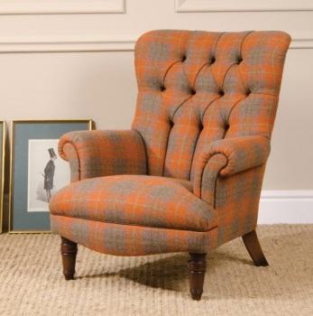 Harris Tweed Calvay Chair Fabric