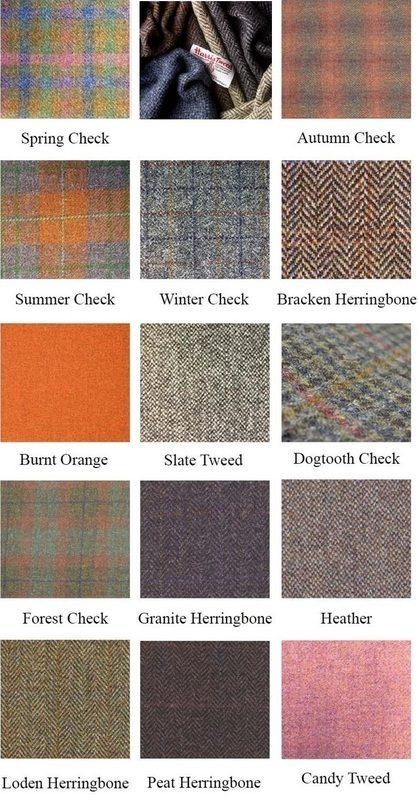 Harris Tweed Fabric Samples