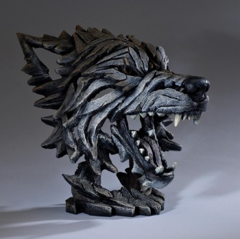 Wolf Bust (Timber)