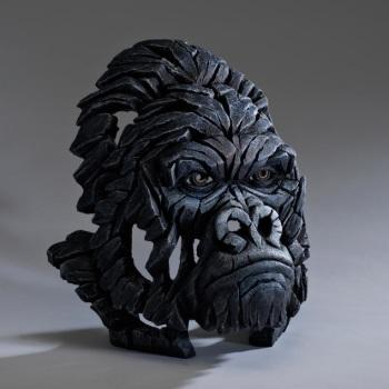 Gorilla Bust (Black)