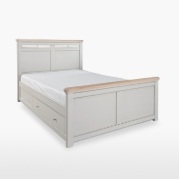 Cromwell King Size Bed with Storage