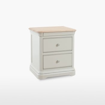 Cromwell Large 2 Drawer Bedside