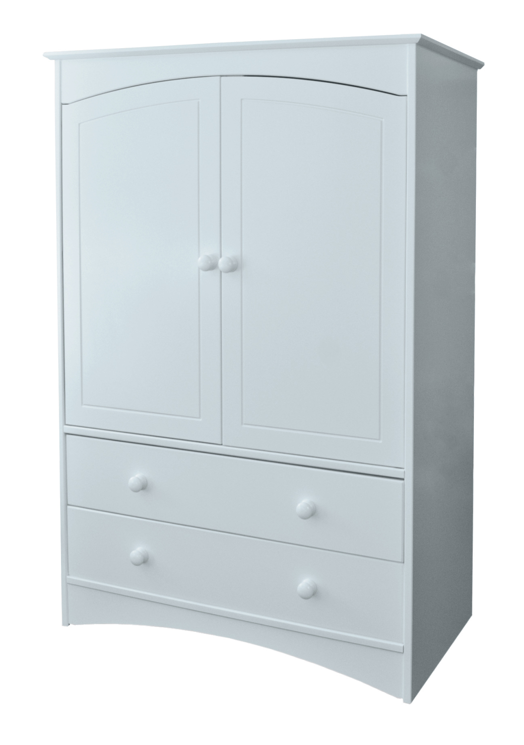Lighthouse Small 2 Drawer Wardrobe