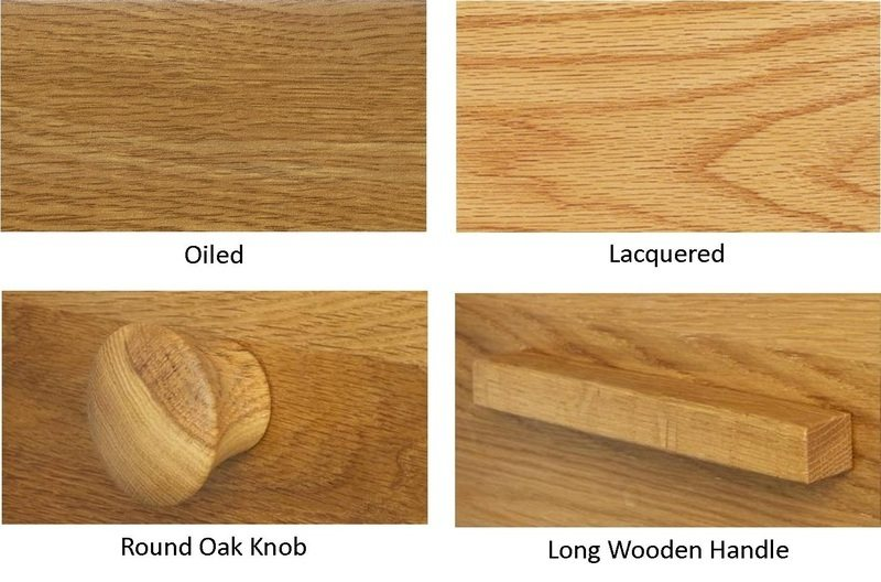 Quercus Finish/Knob