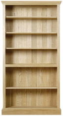 Chichester Tall Open Bookcase with 5 shelves