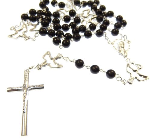 Rosary of the seven sorrows beads necklace - servite